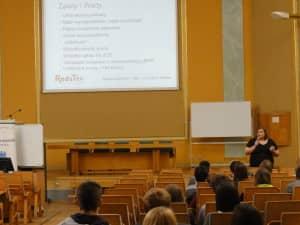 Wykład na Uniwersytecie Ekonomicznym w Poznaniu